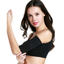 1Pair Women Sauna Arm Slimming Slimmer Sleeve Wraps font b Weight b font font b Loss