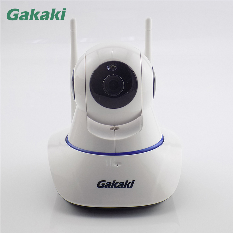Gakaki Wireless IP Camera 1MP Surveillance IR-Cut Night Vision Home Security Camera P2P Onvif Network  CCTV Camera Baby Monitor ssr 80aa ac output solid state relays 90 280v ac to 24 480v ac single phase solid relay module rele 12v 80a ks1 80aa