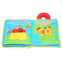 Cloth Books Infant Early Cognitive Development My Quiet Bookes Baby Goodnight Educational Washable Cloth Book Activity Book my perfect princess sticker activity book