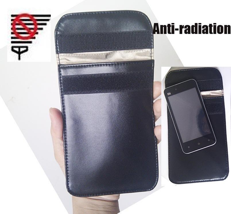 5.3 pouce téléphone portable Signal Blocage Sac, protection contre les radiations, Anti-démagnétisation Aucun Signal Multi-Fonction Sac 1 pcs