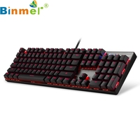 Binmer Mechanical Keyboard Motospeed Inflictor CK104 Original Unlimited With Switch Backlight Anti Ghosting For Computer 17OCT9