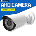 HD 1080 P 720 P AHD Câmera De Vídeo Bala Câmera Night Vision IR 20 m Câmera Ao Ar Livre, 36 Pcs diodos emissores de luz, Lente de 3.6mm Câmera de Segurança CCTV AHD