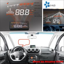 Car HUD Head Up Display For Citroen C3 C5 C6 2015 2016 - Saft Driving Screen Projector Inforamtion Refkecting Windshield цена и фото