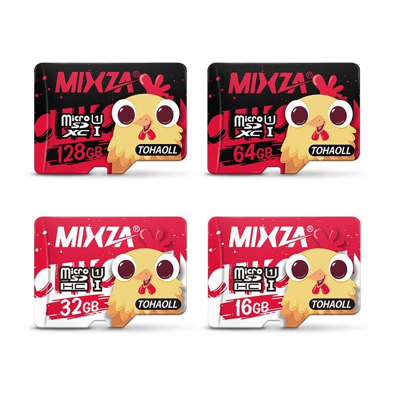 MIXZA Chinois Nouvelle Année de Poulet Memorial Carte Mémoire 128 GB 64 GB 32 GB 16 GB micro sd carte Class10 UHS-1 8 GB Class6 Microsd