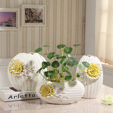 Hydroponic fashion ceramic flower vase decoration living room dining table decoration wedding gift