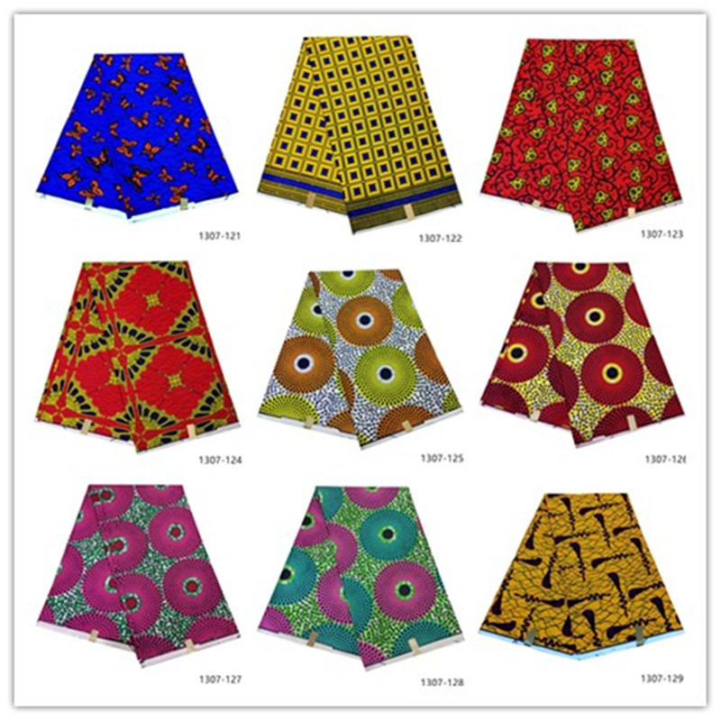 2019 Ankara African Polyester Wax Prints Fabric Binta Real Wax High Quality 6 yard African Fabric for Party Dress 1307-1212019 Ankara African Polyester Wax Prints Fabric Binta Real Wax High Quality 6 yard African Fabric for Party Dress 1307-121
