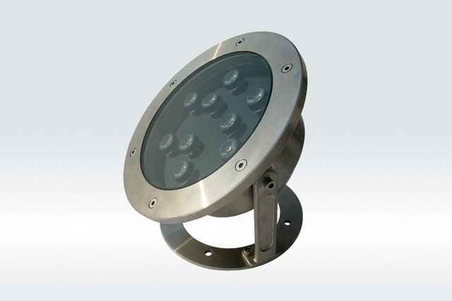 9*1W LED Underwater Light;DMX512 compatible;DC12V input;IP68;Stainless steel housing;please advise the color you need
