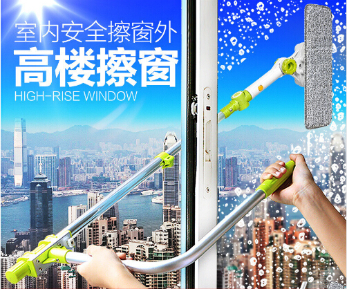 Brush for windows telescopic Multifunction High-rise window home cleaning tools hobot brush for washing windows dust cleaning 1pcs lot j112y imitation of brass wire brush for cleaning and polishing wooden brush diy using high quality on sale