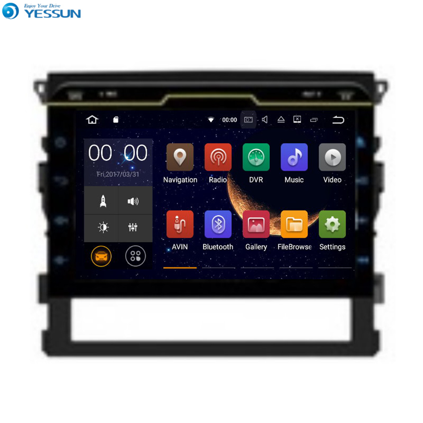 YESSUN For Toyota Land Cruiser 200 Android Car GPS Navigation DVD player Multimedia Audio Video Radio Multi Touch Screen