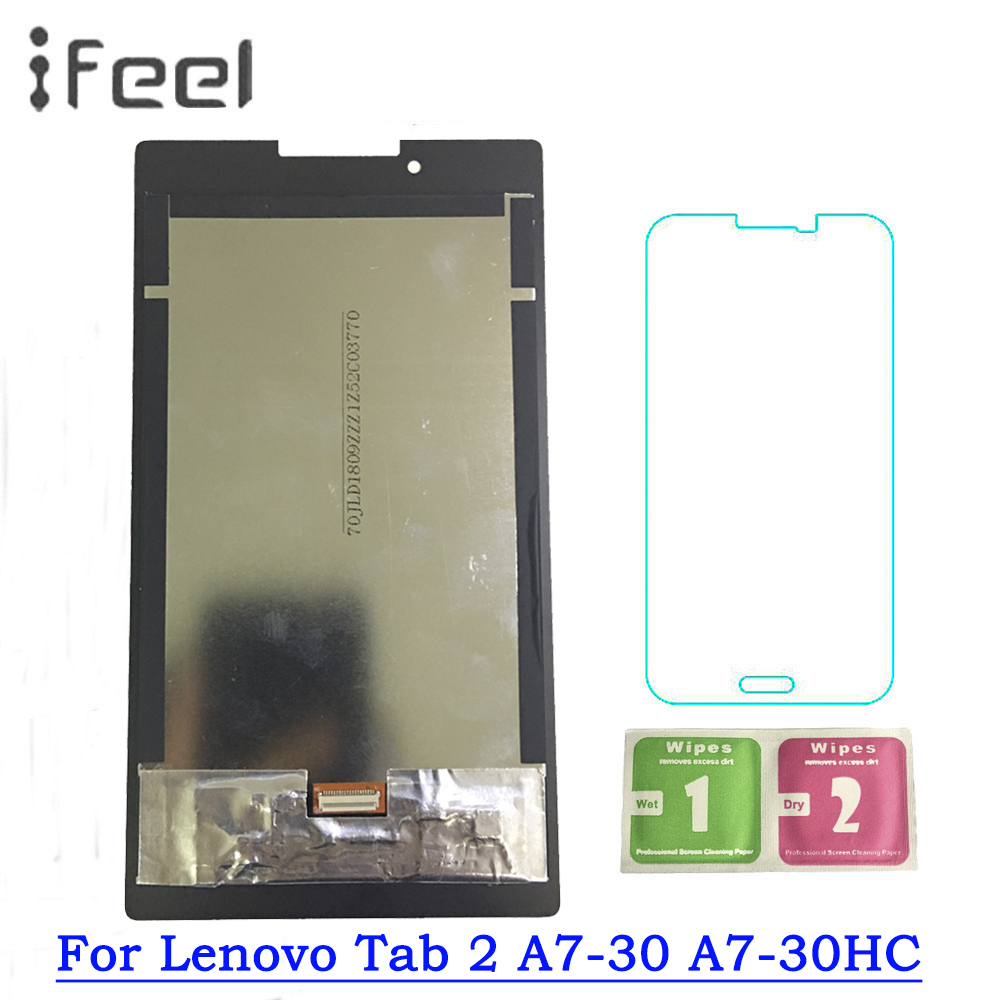 Sincere For Lenovo Tab 2 A7-30 A7-30hc Lcd Display Touch Screen Assembly Free Shipping Up-To-Date Styling Tablet Lcds & Panels