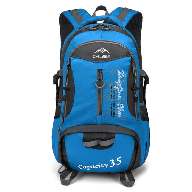 103f0c7ce4 35L Climbing Backpacks Mountaineering Waterproof 15.6 Inch Laptop Bags Day  Urban leisure Pack Cycling Camping Outdoor Sport Gear