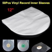 50 шт. 12 дюймов антистатический пластик крышка внутренние рукава сумка для LP музыка Виниловая пластинка Hogard FE28
