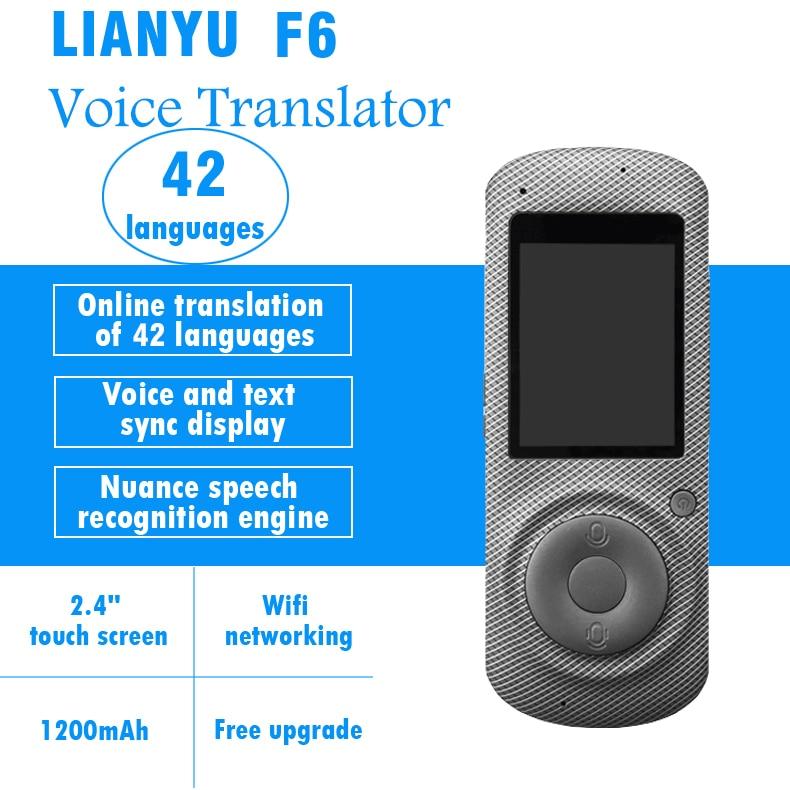 Smart translator 42 languages two way translation Speech voice translator free shipping цена 2017