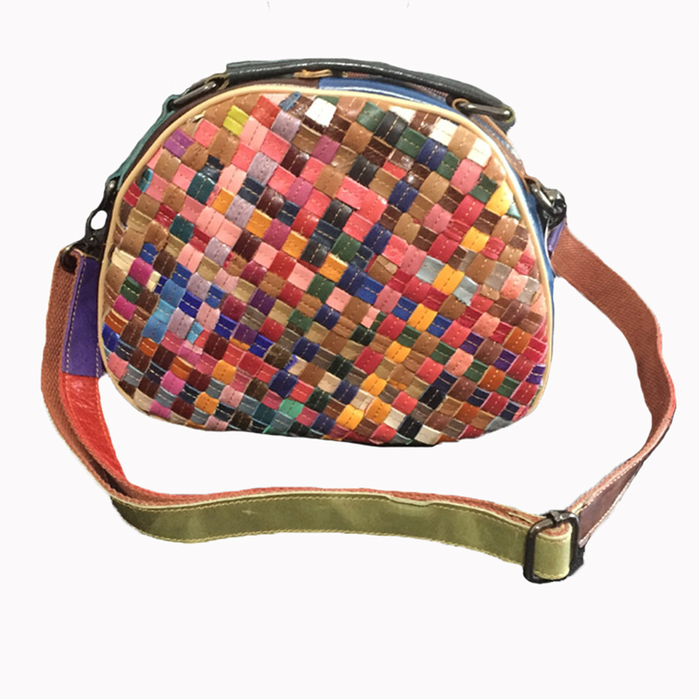 ФОТО Caerlif 2017 new crossbody bags for women genuine leather shoulder bag joining together weave a heart-shaped package handbag bag