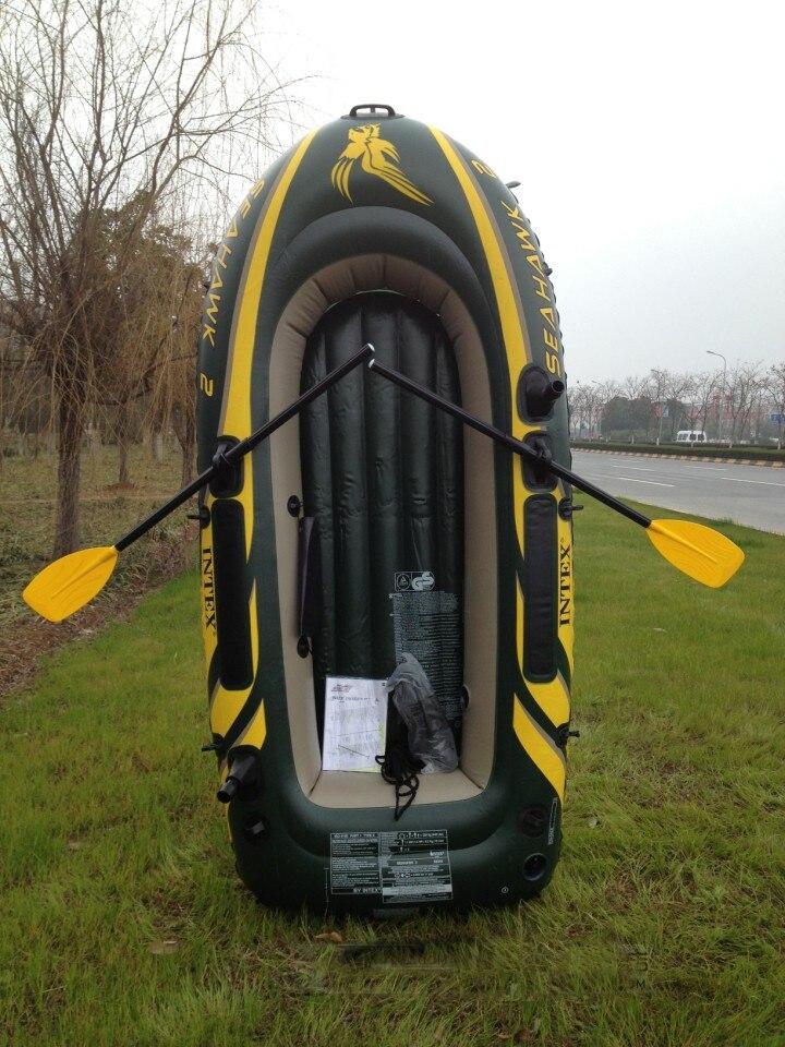 Motor Mount Price >> Super Safety INTEX Inflatable Boat Kayak Canoe Seahawk 2 ...