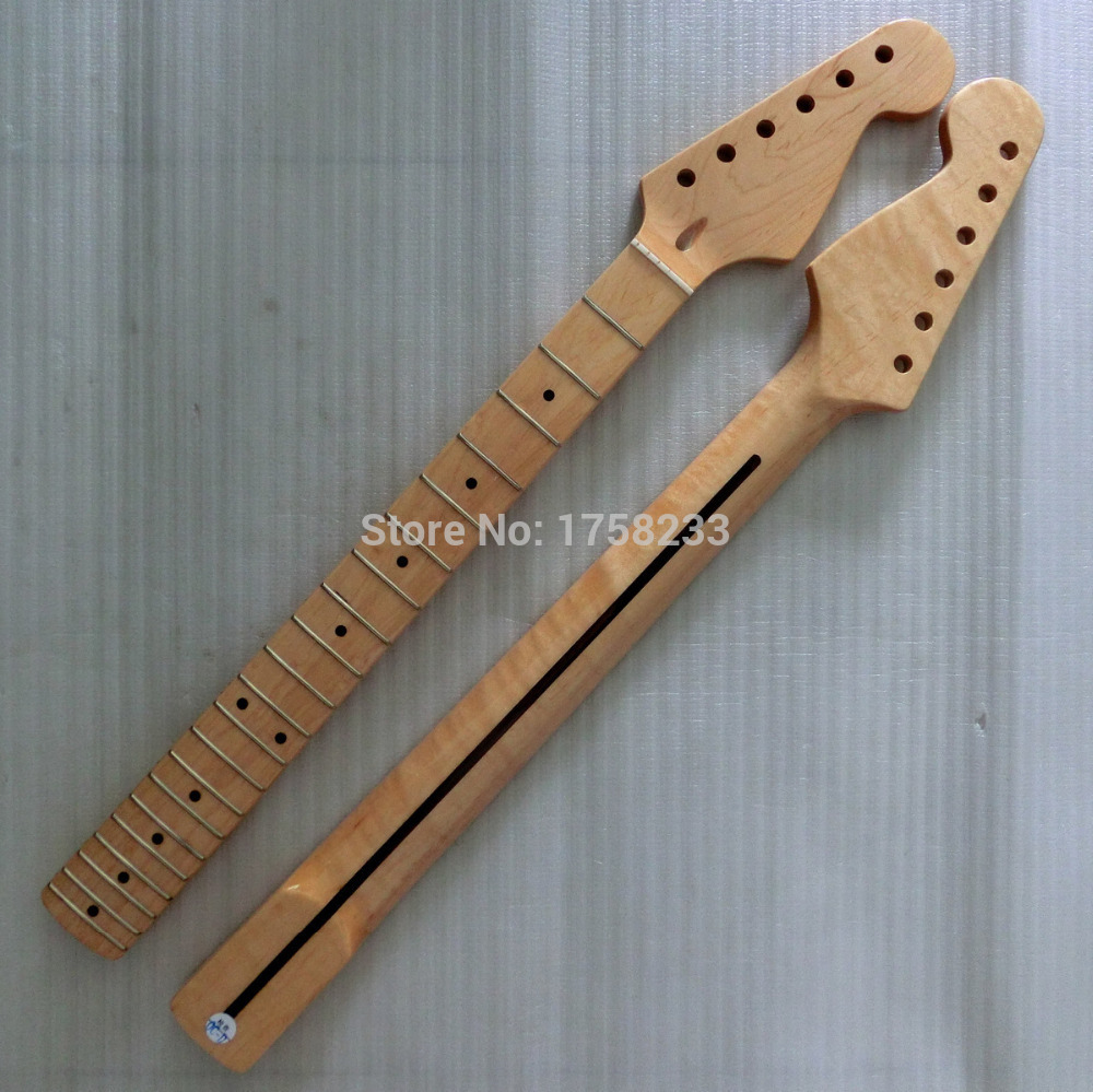 2019 Free shipping Guitar accessories stratocaster , maple fingerplate self-shade Every light guitar neck 21 fret in stock free shipping new arrival on sale f stratocaster sky blue custom body maple fingerboard electric guitar in stock 16
