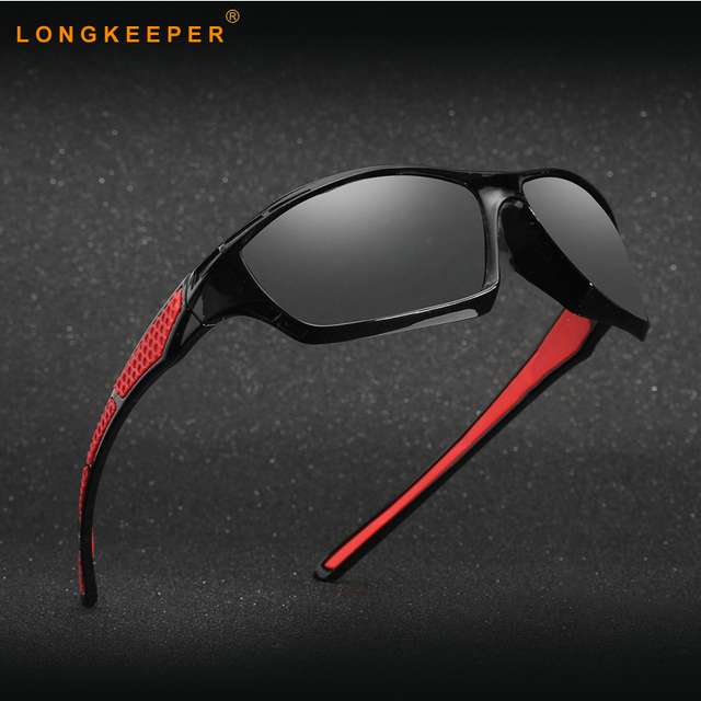 678b167aa6 New Polarized Photochromic Sunglasses Men Square Transition Lens Driving  Sun glasses Anti-glare Gafas For