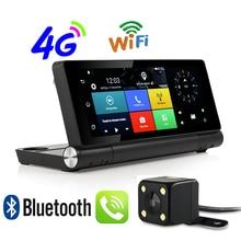 Cheap price Udricare 7 inch 4G SIM Card Android WiFi Bluetooth Phone Dashboard GPS Dual Lens FHD1080P 1GB RAM Rear View Camera DVR GPS