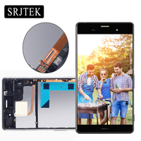 5 2 For SONY Xperia Z3 Display Touch Screen With Frame For SONY Xperia Z3 LCD