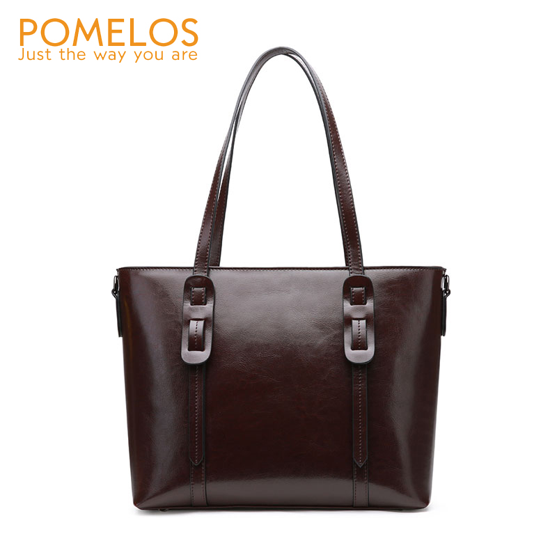 POMELOS Womens Bags Handbags Genuine Leather Bags For Women 2019 New Shoulder Bag Handbag Women Crossbody Bag Ladies Big HandbagPOMELOS Womens Bags Handbags Genuine Leather Bags For Women 2019 New Shoulder Bag Handbag Women Crossbody Bag Ladies Big Handbag