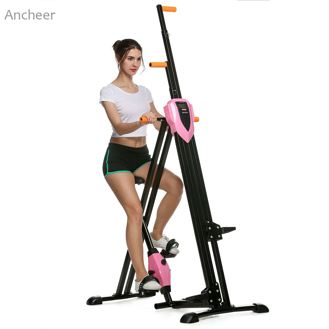 New Sports Exercise Training Fitness Weight Lifting Gym: ANCHEER New Vertical Climber Gym Exercise Fitness Machine