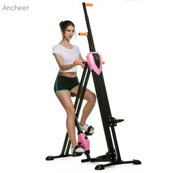 Ancheer new vertical climber gym exercise fitness machine stepper cardio workout training non stick grips legs.jpg 250x250