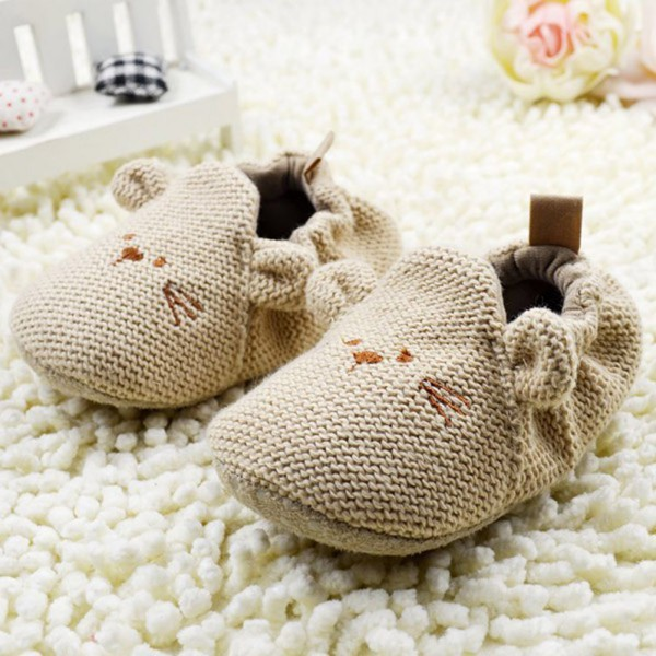 Baby Knit Soft Crib Shoes 2