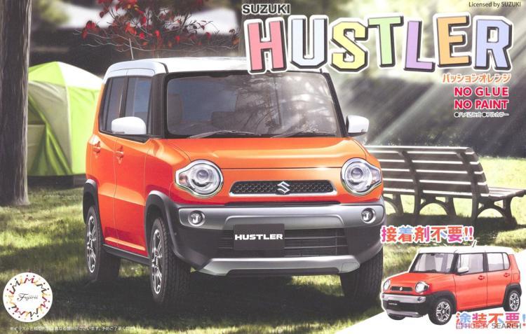 1/24 SUZUKI Suzuki Hustler (chaud Orange) 06601