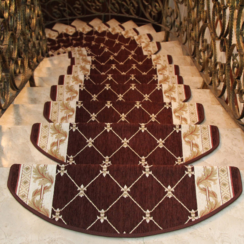 Ehomebuy Carpet 1 Piece Staircase Treads Silicone Strips   Rug Strips For Stairs