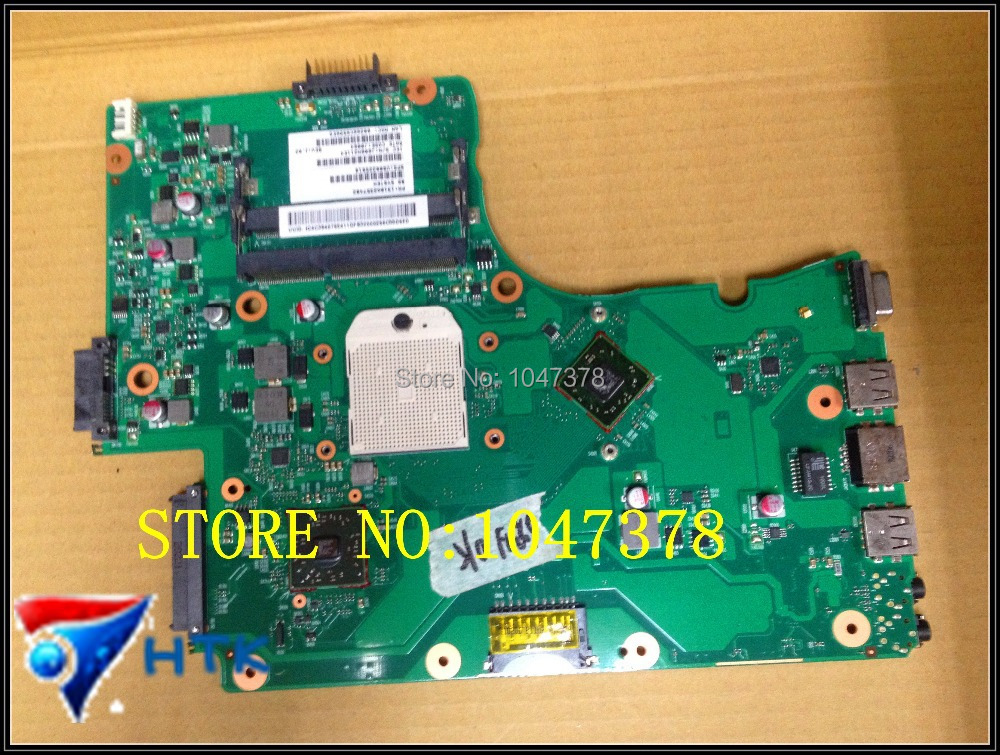 Wholesale  V000225010 for Toshiba C655 C655D C650D laptop motherboard 6050A2357401-MB-A02 100% Work Perfect  wholesale v000225020 laptop motherboard for toshiba c650 c655 100