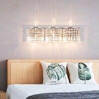 Современный настенный светильник роскошные освещение для ванной зеркало светильник led wall mount косметическое огни уборная освещения светиль