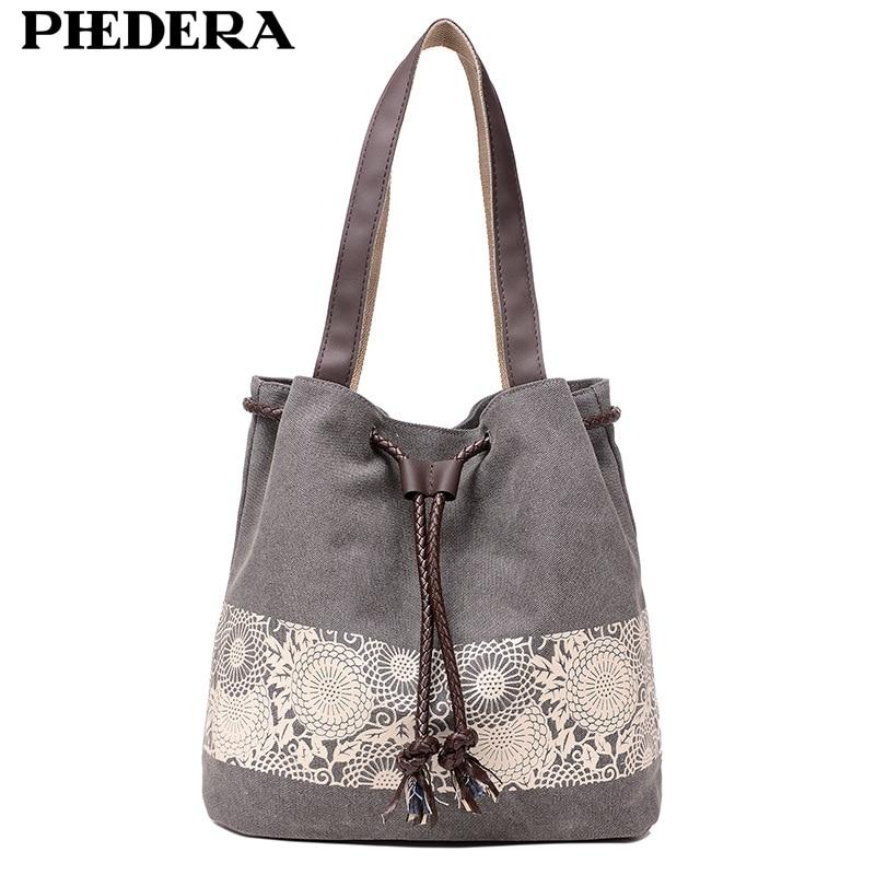 2017 New Autumn Trend Canvas Bag for Women Pattern Large Capacity Female Shoulder Bags Casual shopping Handbags Grey Blue Bag цены онлайн