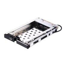 Uneatop ST8210B 2.5 inch SATA HDD/SSD Mobile Rack Enclosure Black Door