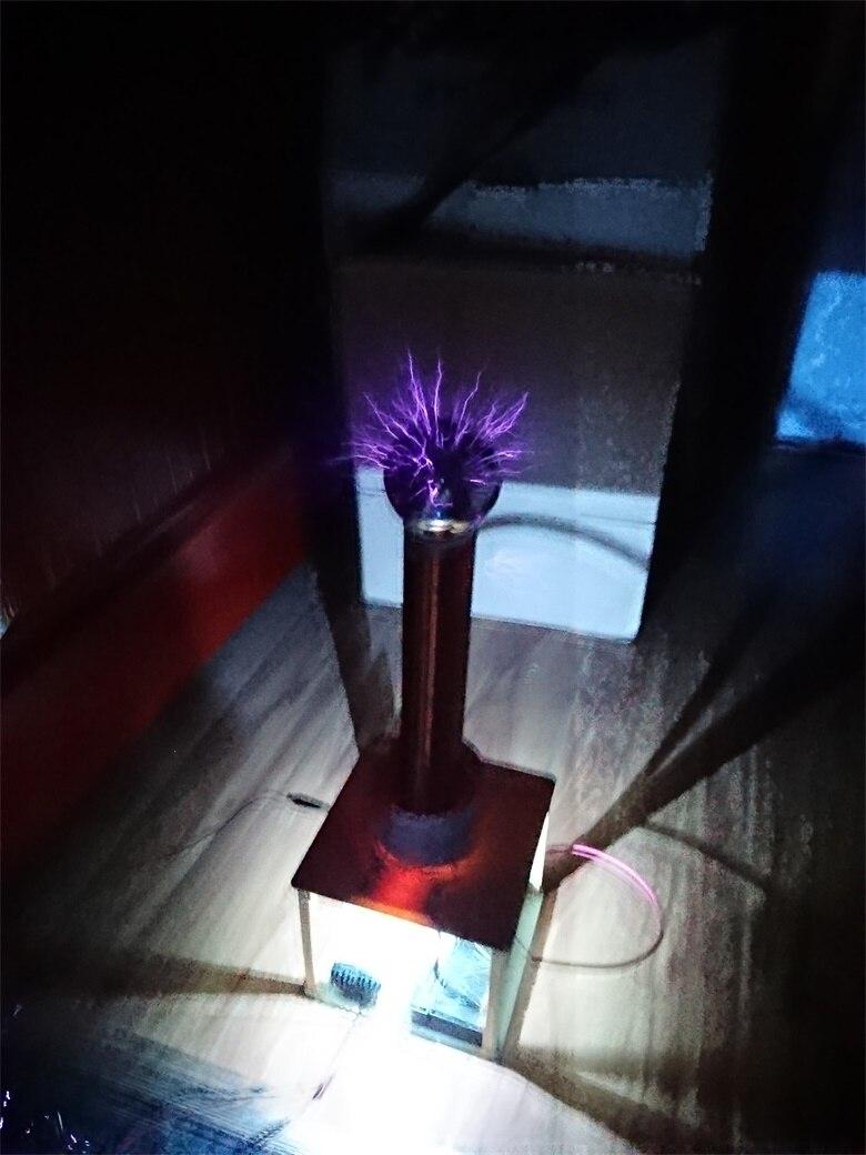 Étincelle écart Tesla bobine costume Arc Test bricolage sans fil électricité Transmission jouer jouet ZVS puissance 35 W-60 W DC 12 V-36 V - 4
