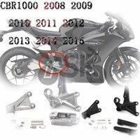 For HONDA CBR 1000 RR CBR1000RR 2008 2009 2010 2011 2012 2013 2014 2015 Front Footrest Peg Bracket