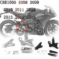 For HONDA CBR 1000 RR CBR1000RR 2008 2009 2010 2011 2012 2013 2014 2015 Front Footrest Peg Bracket