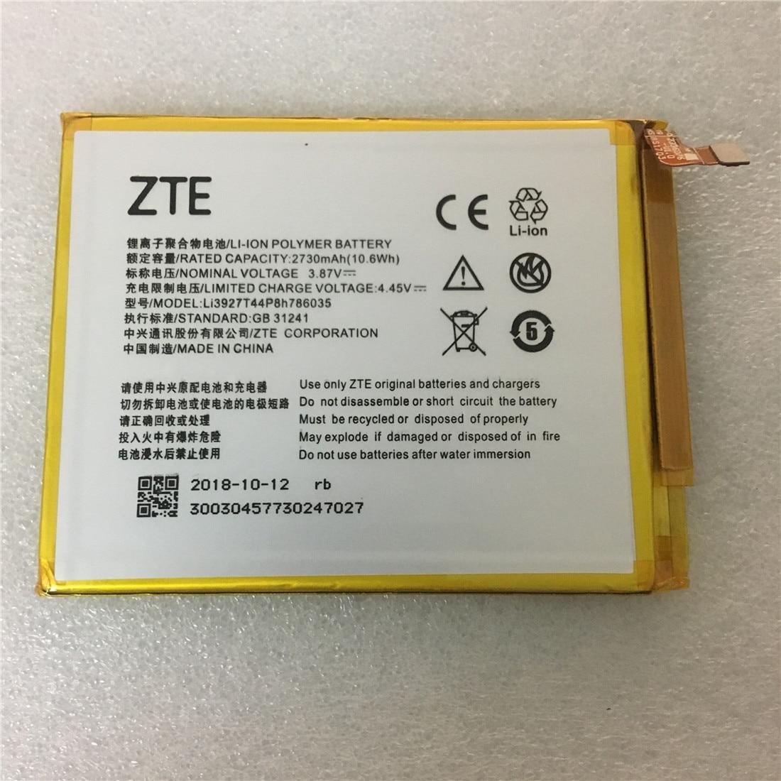 3.87V 2730mAh Li3927T44P8h786035 For ZTE Blade V8 / V0800 / BV0800 / V7 / V7Plus / V770 / Xiaoxian 4 / BV0701 Battery