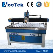 Acctek 4 axis cnc design engraving machine 1212/cnc small letters cutting engraving machine