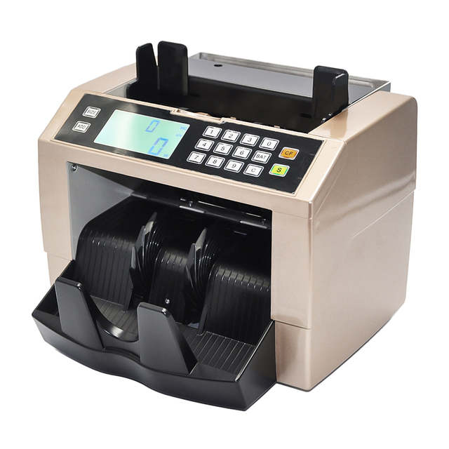 Multifunction Currency Counter Banknote Money Bill Counting Machine With Uv Mg Counterfeit Detector
