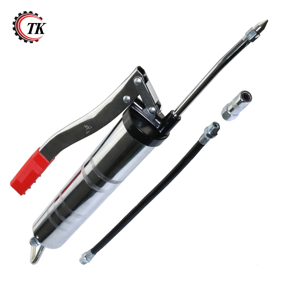 Transkoot Pneumatic Manually Pressure Lever Type Grease Gun Auto Oil Injector Gun Compressor Pump Grease Machine Handheld Tool цена
