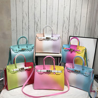 women bag Silicone jelly luxury handbags women bags color designer 2018 Fashion bolsa feminina Model Valentine's Day gift ME882