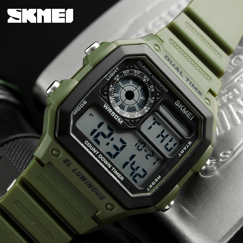 Skmei Sports Watch Men Top Brand Luxury Famous Led Digital Watches Male Clocks Men's Watch Relojes Deportivos Herren Uhren #5