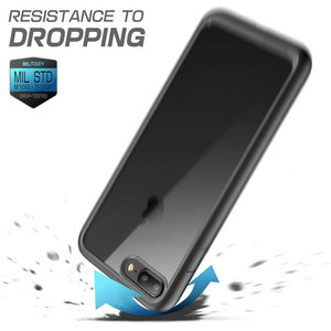 Image 4 - SUPCASE для iphone 8 Plus чехол UB стиль чистый полный корпус прочный бампер Чехол со встроенной защитой экрана для iphone 7 Plus