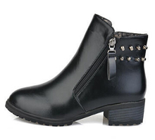 Nice Autumn Brand Pointed Toe women s Ankle Boots New Fashion Zipper Casual Woman Boots Low