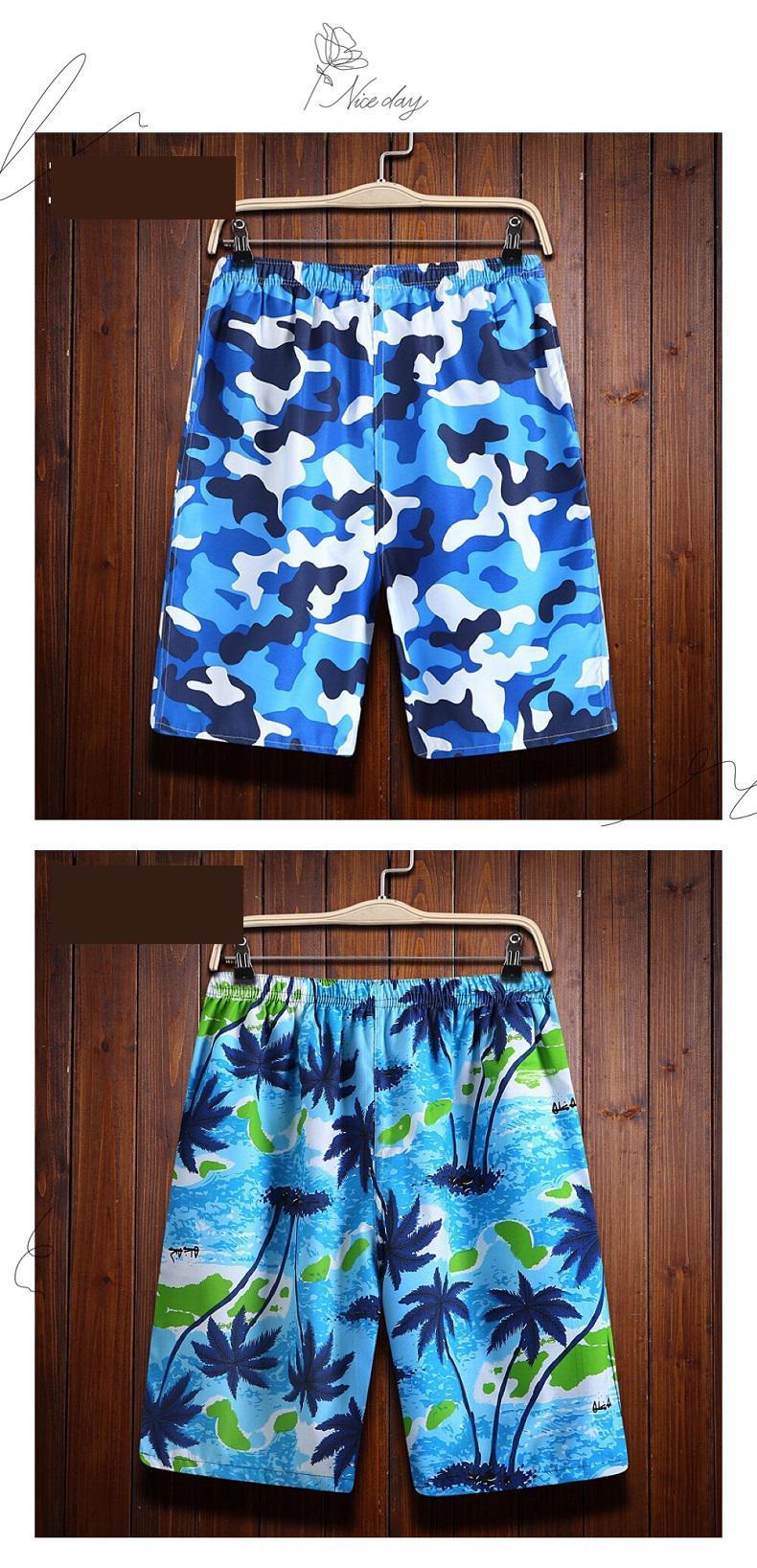 10 Patterns Camouflage Compression Shorts Men Summer Clothing Board Shorts Nylon Bottom Men Side Pockets Men's Swimwear 5