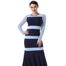 Womens new fashion commuter dress slim boutique spring