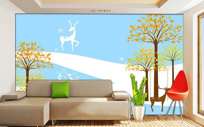 Compre hand drawn alce dos desenhos for Sala de estar animada