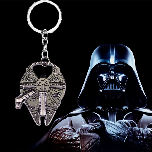 US $14 68  5Pcs/Lot Hot sell Star Wars Airship Key Ring Bottle Opener Small  Gift Activities Presented Supplies-in Party Favors from Home & Garden on