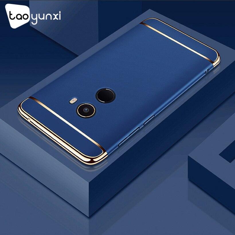 TAOYUNXI Plating Plastic Case For Xiaomi Mi Mix 2 Case Back Cover Coque Funda for Xiaomi Mi Mix Evo 5.99 inch Anti-Knock Etui