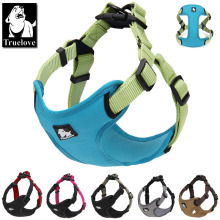 Truelove Padded reflective dog harness vest Pet Dog Step in Harness Adjustable No Pulling pet Harnesses for Small Medium